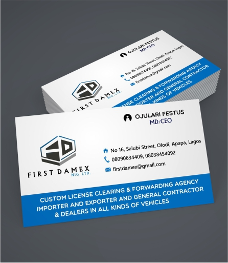 Single side business card afridext quality designs haven single side business card colourmoves